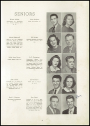 Page 13, 1947 Edition, Shelby High School - Cruiser Yearbook (Shelby, NC) online yearbook collection
