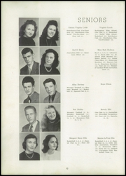 Page 14, 1947 Edition, Shelby High School - Cruiser Yearbook (Shelby, NC) online yearbook collection