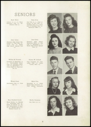 Page 15, 1947 Edition, Shelby High School - Cruiser Yearbook (Shelby, NC) online yearbook collection