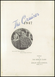 Page 5, 1947 Edition, Shelby High School - Cruiser Yearbook (Shelby, NC) online yearbook collection
