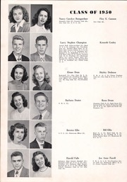 Page 14, 1950 Edition, Shelby High School - Cruiser Yearbook (Shelby, NC) online yearbook collection