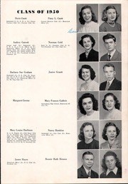 Page 15, 1950 Edition, Shelby High School - Cruiser Yearbook (Shelby, NC) online yearbook collection