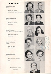 Page 9, 1950 Edition, Shelby High School - Cruiser Yearbook (Shelby, NC) online yearbook collection