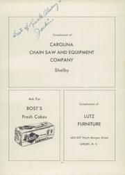 Page 105, 1955 Edition, Shelby High School - Cruiser Yearbook (Shelby, NC) online yearbook collection