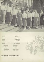 Page 60, 1955 Edition, Shelby High School - Cruiser Yearbook (Shelby, NC) online yearbook collection