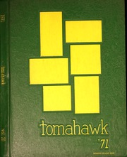 1971 Edition, West Mecklenburg High School - Tomahawk Yearbook (Charlotte, NC)