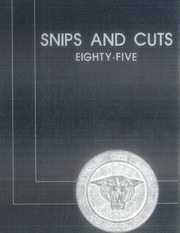1985 Edition, Garinger High School - Snips and Cuts Yearbook (Charlotte, NC)