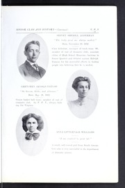 Page 19, 1909 Edition, Grimsley High School - Whirligig Yearbook (Greensboro, NC) online yearbook collection