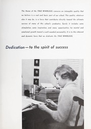 Page 11, 1960 Edition, Grimsley High School - Whirligig Yearbook (Greensboro, NC) online yearbook collection