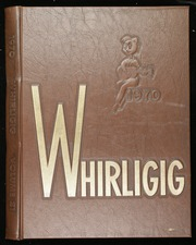 1970 Edition, Grimsley High School - Whirligig Yearbook (Greensboro, NC)