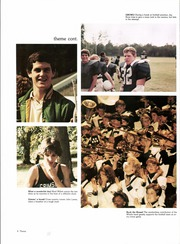 Page 12, 1984 Edition, Grimsley High School - Whirligig Yearbook (Greensboro, NC) online yearbook collection