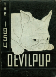 1954 Edition, Camp Lejeune High School - Devilpup Yearbook (Camp Lejeune, NC)