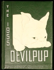 1955 Edition, Camp Lejeune High School - Devilpup Yearbook (Camp Lejeune, NC)