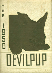 1958 Edition, Camp Lejeune High School - Devilpup Yearbook (Camp Lejeune, NC)