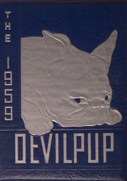1959 Edition, Camp Lejeune High School - Devilpup Yearbook (Camp Lejeune, NC)