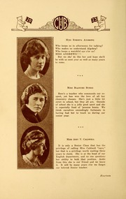 Page 18, 1923 Edition, New Bern High School - Bruin Yearbook (New Bern, NC) online yearbook collection