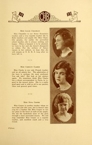 Page 19, 1923 Edition, New Bern High School - Bruin Yearbook (New Bern, NC) online yearbook collection
