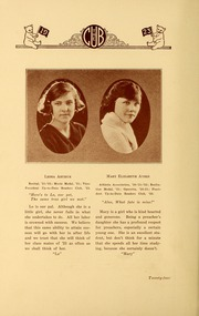 Page 28, 1923 Edition, New Bern High School - Bruin Yearbook (New Bern, NC) online yearbook collection