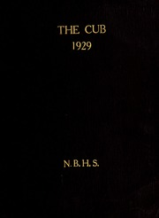 New Bern High School - Bruin Yearbook (New Bern, NC) online yearbook collection, 1929 Edition, Page 1