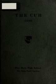 New Bern High School - Bruin Yearbook (New Bern, NC) online yearbook collection, 1930 Edition, Page 1