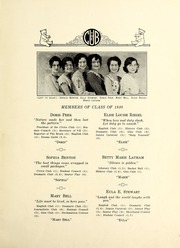 Page 13, 1930 Edition, New Bern High School - Bruin Yearbook (New Bern, NC) online yearbook collection