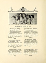 Page 14, 1930 Edition, New Bern High School - Bruin Yearbook (New Bern, NC) online yearbook collection