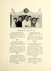 Page 15, 1930 Edition, New Bern High School - Bruin Yearbook (New Bern, NC) online yearbook collection