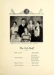 Page 7, 1930 Edition, New Bern High School - Bruin Yearbook (New Bern, NC) online yearbook collection