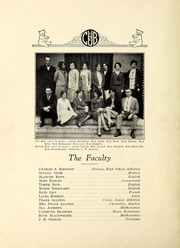 Page 8, 1930 Edition, New Bern High School - Bruin Yearbook (New Bern, NC) online yearbook collection