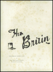 Page 6, 1948 Edition, New Bern High School - Bruin Yearbook (New Bern, NC) online yearbook collection