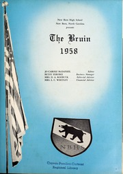 Page 5, 1958 Edition, New Bern High School - Bruin Yearbook (New Bern, NC) online yearbook collection