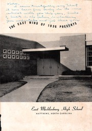 Page 5, 1956 Edition, East Mecklenberg High School - East Wind Yearbook (Charlotte, NC) online yearbook collection