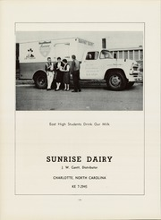 Page 198, 1961 Edition, East Mecklenberg High School - East Wind Yearbook (Charlotte, NC) online yearbook collection