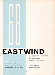 Page 7, 1968 Edition, East Mecklenberg High School - East Wind Yearbook (Charlotte, NC) online yearbook collection