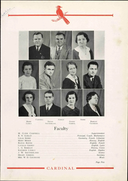 Page 11, 1935 Edition, Newton Conover High School - Cardinal Yearbook (Newton, NC) online yearbook collection