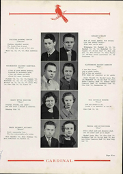 Page 15, 1935 Edition, Newton Conover High School - Cardinal Yearbook (Newton, NC) online yearbook collection