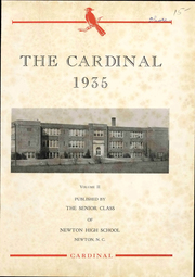 Page 7, 1935 Edition, Newton Conover High School - Cardinal Yearbook (Newton, NC) online yearbook collection