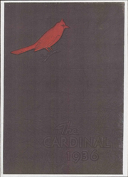 Newton Conover High School - Cardinal Yearbook (Newton, NC) online yearbook collection, 1936 Edition, Page 1