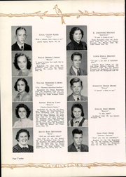 Page 16, 1940 Edition, Newton Conover High School - Cardinal Yearbook (Newton, NC) online yearbook collection