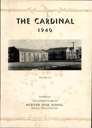 Page 5, 1940 Edition, Newton Conover High School - Cardinal Yearbook (Newton, NC) online yearbook collection