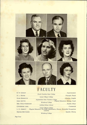 Page 10, 1944 Edition, Newton Conover High School - Cardinal Yearbook (Newton, NC) online yearbook collection