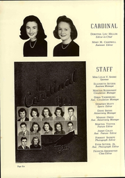 Page 12, 1944 Edition, Newton Conover High School - Cardinal Yearbook (Newton, NC) online yearbook collection