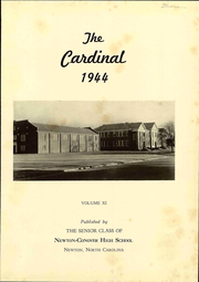 Page 7, 1944 Edition, Newton Conover High School - Cardinal Yearbook (Newton, NC) online yearbook collection