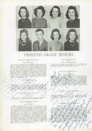 Page 14, 1945 Edition, Newton Conover High School - Cardinal Yearbook (Newton, NC) online yearbook collection