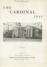 Page 5, 1945 Edition, Newton Conover High School - Cardinal Yearbook (Newton, NC) online yearbook collection