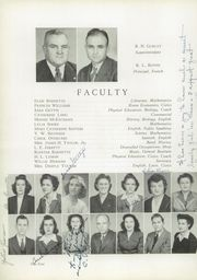 Page 8, 1945 Edition, Newton Conover High School - Cardinal Yearbook (Newton, NC) online yearbook collection