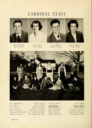 Page 10, 1949 Edition, Newton Conover High School - Cardinal Yearbook (Newton, NC) online yearbook collection