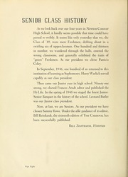 Page 12, 1949 Edition, Newton Conover High School - Cardinal Yearbook (Newton, NC) online yearbook collection