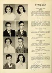 Page 14, 1949 Edition, Newton Conover High School - Cardinal Yearbook (Newton, NC) online yearbook collection