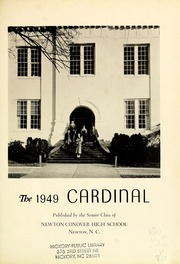 Page 5, 1949 Edition, Newton Conover High School - Cardinal Yearbook (Newton, NC) online yearbook collection